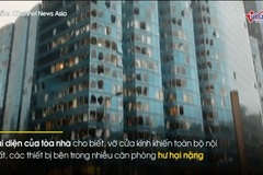 Hình ảnh Hong Kong hoang tàn sau siêu bão Mangkhut