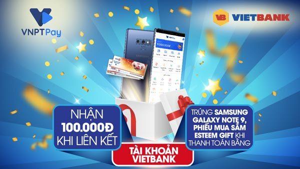 'Mưa quà tặng' từ Vietbank -VNPT Pay