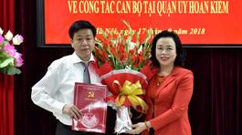 Bổ nhiệm nhân sự Hà Nội, TP.HCM