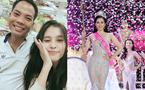 Xúc động câu chuyện Hoa hậu Trần Tiểu Vy chăm bố bị bệnh