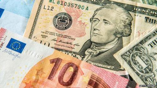 Tỷ giá ngoại tệ ngày 21/9: USD giảm, Euro tăng mạnh