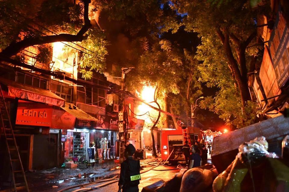 Cháy lớn,Cháy ở Hà Nội,cháy nhà,cháy lớn ở Hà Nội