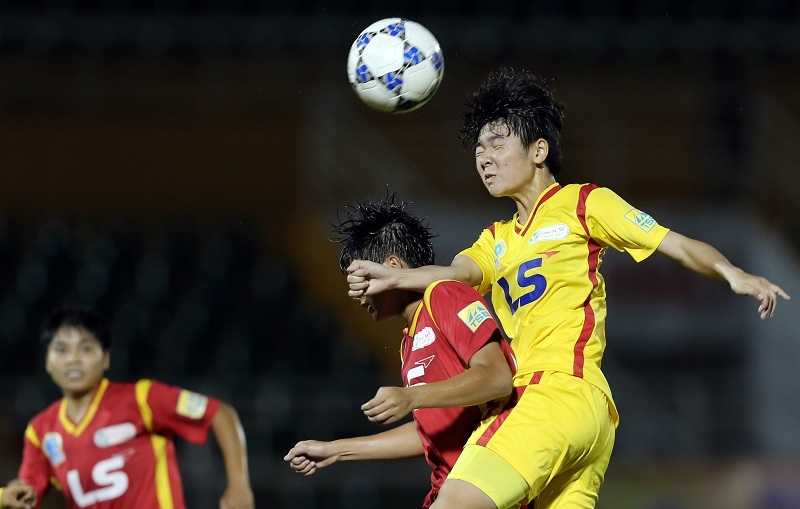 Vòng 9 giải nữ VĐQG – Cúp Thái Sơn Bắc 2018: Hà Nội bại trận