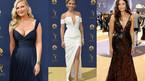 Loạt mỹ nhân khoe vòng 1 nóng bỏng trên thảm đỏ Emmy 2018
