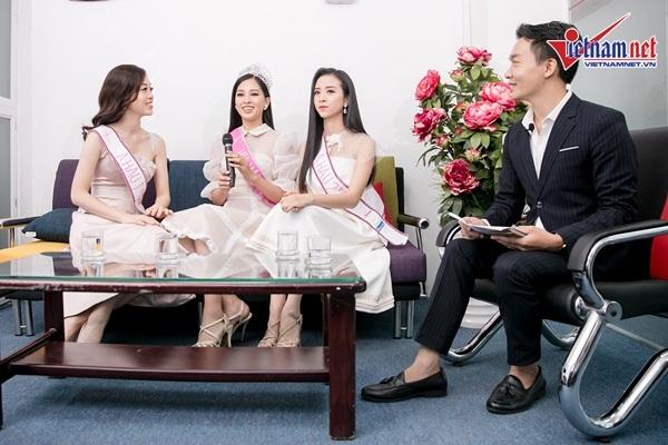 Á hậu Phương Nga ngại ngùng nói về tình cảm với diễn viên Bình An