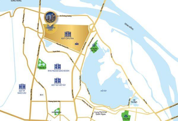Tây Hồ Tây - Khu vực quy hoạch đạt chuẩn quốc tế