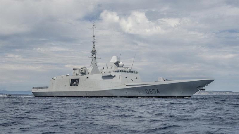 Nga,Pháp,tàu chiến Pháp,tàu khu trục Pháp,tên lửa,Syria