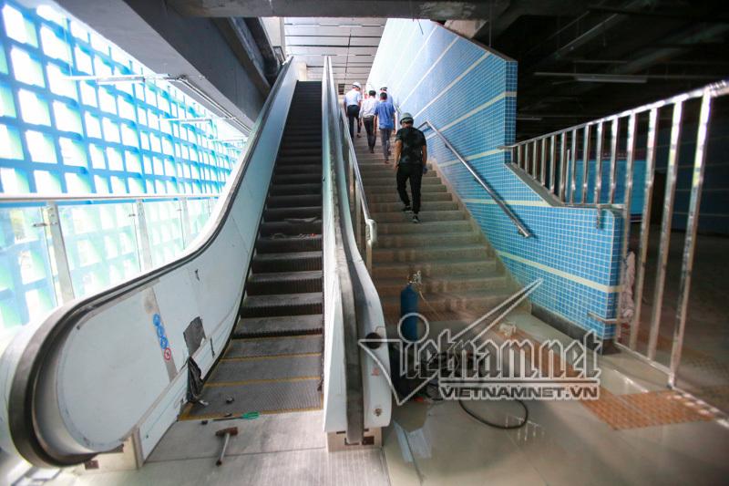 Ngàn ngày mong chờ, cuối cùng đường sắt Cát Linh-Hà Đông chạy thử 5 tàu