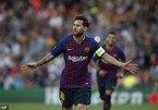 Messi lập hat-trick, Barca khởi đầu như mơ ở Cúp C1