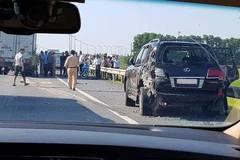 Lexus biển tứ quý 8 bị đâm bẹp, tài xế tử vong: 'Vận đen' của đại gia khoáng sản
