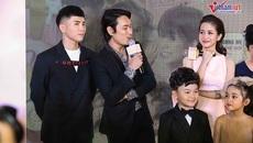 Kiều Minh Tuấn - An Nguy từ chối trả lời phỏng vấn khi ra mắt phim