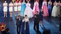 Lãnh đạo Hàn-Triều xem biểu diễn nghệ thuật, ăn tối