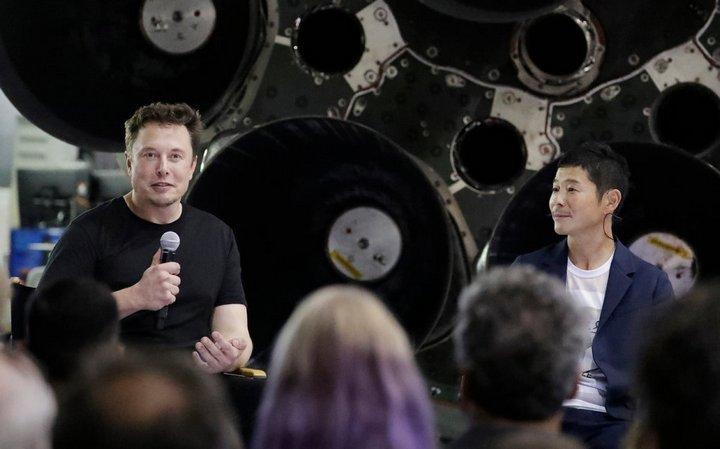 Elon Musk,SpaceX,du lịch không gian