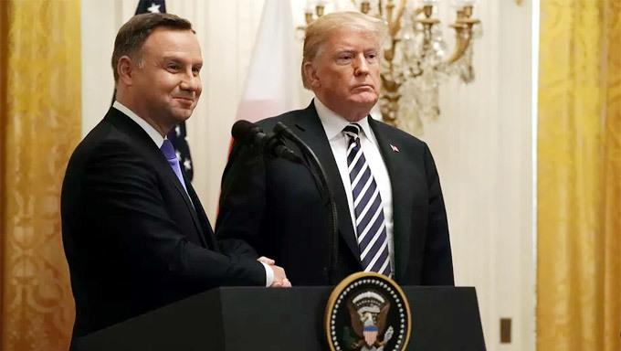 Thách thức Nga, Ba Lan đề xuất mở căn cứ Mỹ mang tên ông Trump