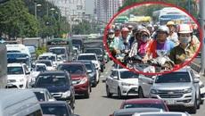 Nghìn người 'hóa điên' giữa trưa ở cửa ngõ Sài Gòn vì lý do không ngờ