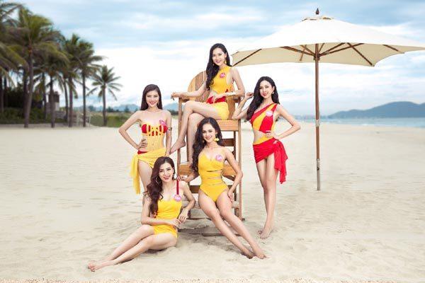 Màn trình diễn bikini đẹp mắt của các thí sinh Hoa hậu VN 2018