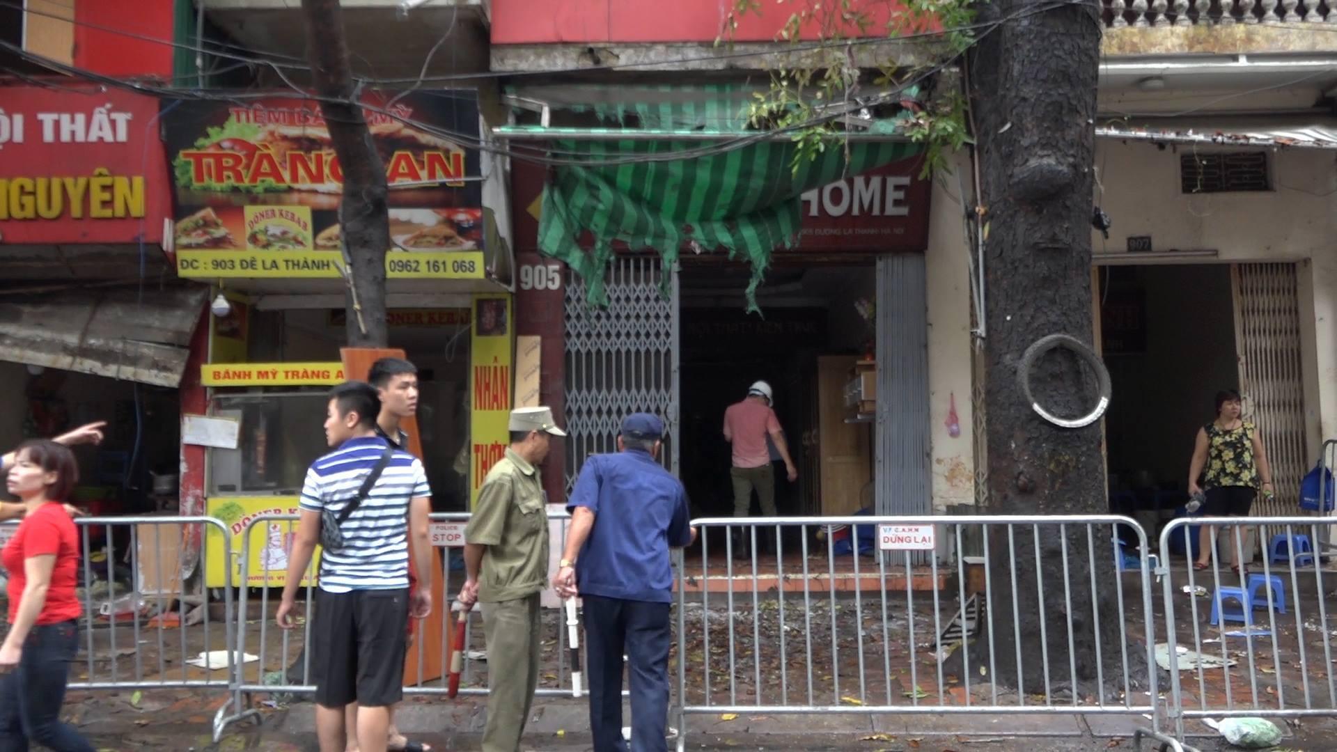 Cháy nhà ở Đê La Thành,Cháy nhà ở Hà Nội,Cháy lớn ở Hà Nội,Bệnh viện Nhi Trung ương