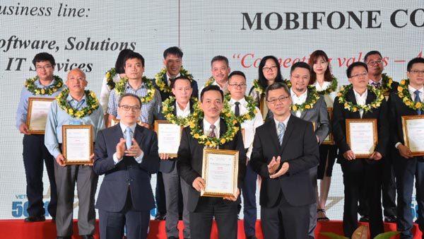 MobiFone vào Top 50 doanh nghiệp CNTT hàng đầu Việt Nam