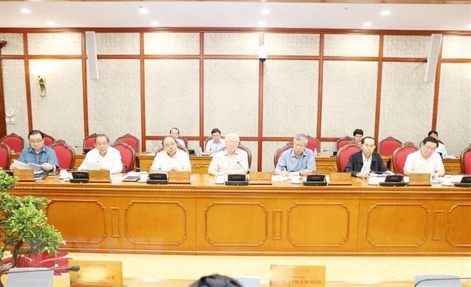 Tổng bí thư,Nguyễn Phú Trọng,hội nghị trung ương 8,Trung ương 8