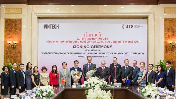 VinTech hợp tác với ĐH Công nghệ Sydney