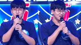 Xuất hiện hotboy Hàn Quốc tự tin 'cân' cả 5 ca sĩ ở Giọng ca bất bại