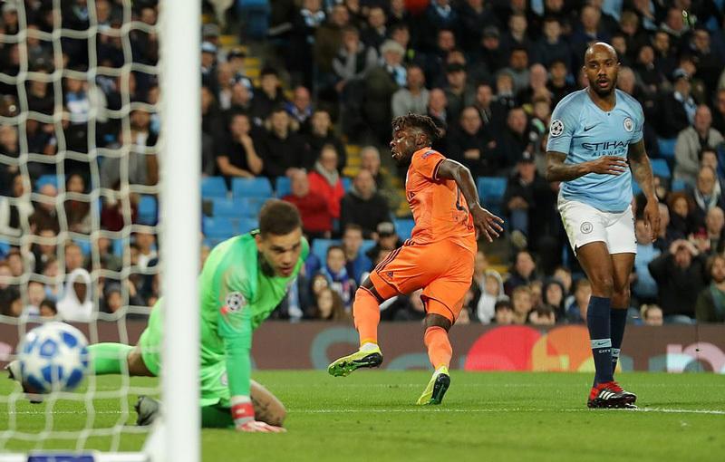 Chấm điểm kết quả Manchester City 1-2 Lyon