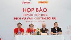 Sen Đỏ có thêm đối tác giao hàng DHL eCommerce Việt Nam