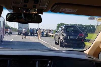 Tài xế Lexus biển tứ quý 8 bị xe tải đâm tử vong: Lời kể nhân chứng