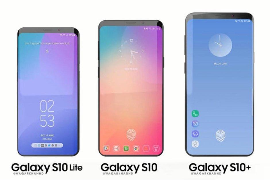 Galaxy S10 lộ thiết kế mới hoàn toàn, sẵn sàng đấu iPhone Xs Max