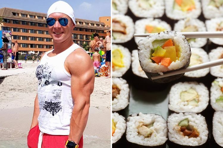 Bị nhà hàng buffet cấm cửa vì đánh bay 100 đĩa sushi
