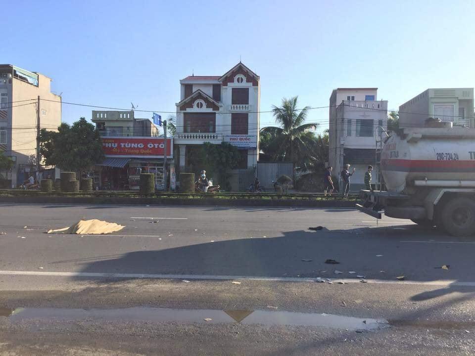 Hải Phòng:Hai thanh niên chết thảm dưới bánh xe bồn