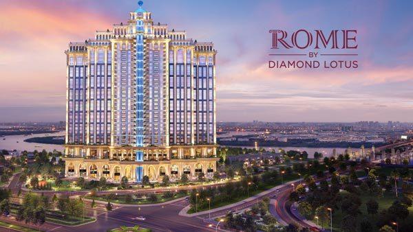 Phúc Khang chọn DKRA Vietnam phân phối chủ lực Rome Diamond Lotus
