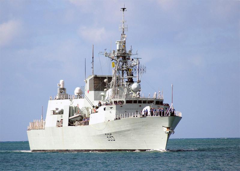 Tàu chiến,tàu khu trục,tàu Canada,tàu Canada thăm Đà Nẵng