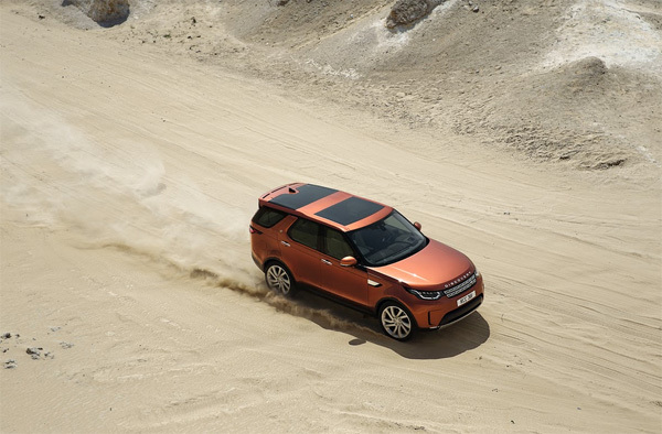 Land Rover Discovery - chiếc SUV truyền cảm hứng