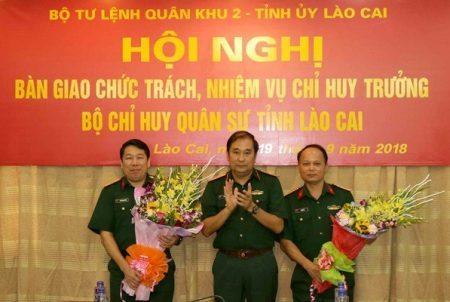 bổ nhiệm,nhân sự,Bộ Quốc phòng,Lào Cai