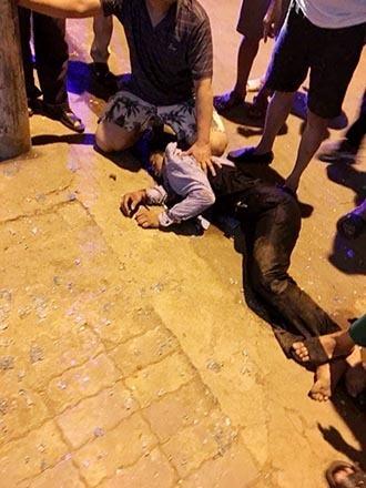 Hình ảnh nóng về vụ cướp tiệm vàng Trường Ký tại Sơn La