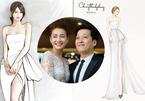 Hé lộ chiếc váy Nhã Phương mặc trong ngày cưới Trường Giang