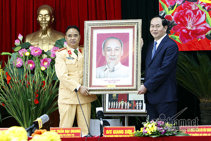 Trần Đại Quang,Chủ tịch nước,Chủ tịch nước Trần Đại Quang