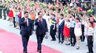Ông Tập Cận Bình: Chủ tịch nước Trần Đại Quang là nhà lãnh đạo xuất sắc của VN
