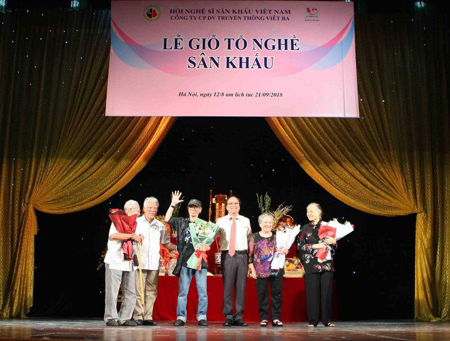 Vinh danh nghệ sĩ và các tác phẩm sân khấu nhân ngày giỗ Tổ ngành