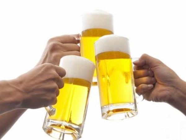 Làm sao tránh rối loạn tiêu hóa khi uống rượu bia?