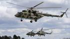 Sức mạnh đáng nể của lực lượng trực thăng quân sự Nga