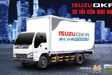 ISUZU QKR BLUE POWER- xe tải nhẹ hút khách hàng doanh nghiệp