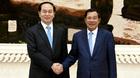 Thủ tướng Campuchia và kỷ niệm 5 lần được Chủ tịch nước Trần Đại Quang cắt tóc