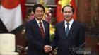 Thủ tướng Nhật Bản gửi lời chia buồn Chủ tịch nước Trần Đại Quang từ trần