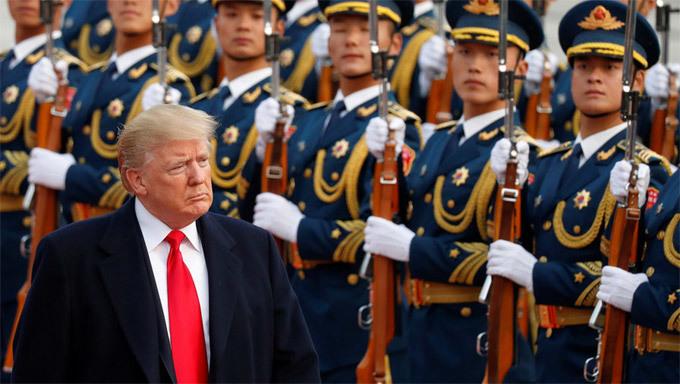 Donald Trump,Mỹ,Trung Quốc,chiến tranh thương mại,cấm vận,trừng phạt