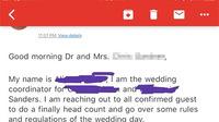 Yêu sách kỳ quặc của cô dâu bị khách mời mỉa mai