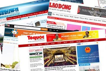 Nhiều báo điện tử và website bất ngờ sập hàng loạt