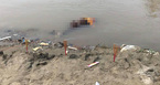 Tìm thấy thi thể thầy cúng sau 2 ngày mất tích trên sông Hồng