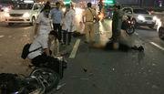 Va chạm xe tải, đôi nam nữ tử vong trên cầu Sài Gòn
